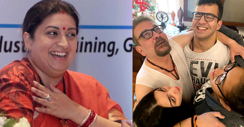 smriti-irani-declares-love-for-family-with-adorable-post