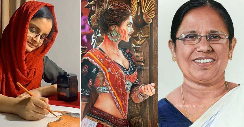 shamli-faizal-color-pencil-drawing-wins-hearts