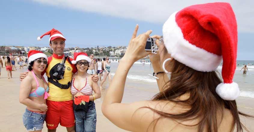Australia Beach Christmas
