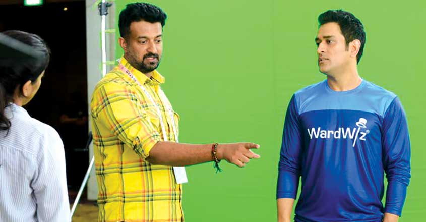 mahendra-singh-dhoni-advertisement-shoot-in-goa