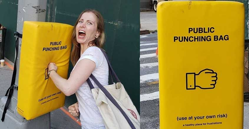 punching-bags-on-newyork-streets-for-angry-people