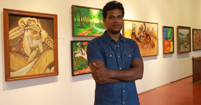 painting-exhibition-in-ernakulam-art-gallery