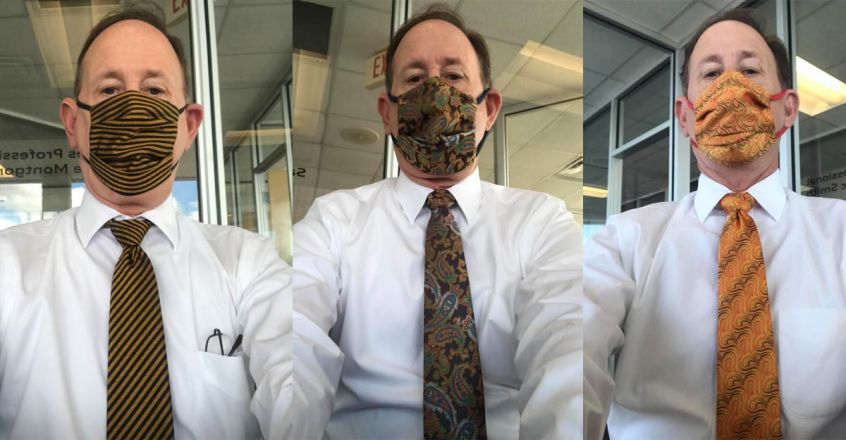 matching-face-masks-to-tie-trending