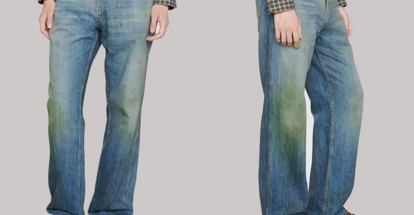 gucci-selling-jeans-with-deliberate-grass-stains
