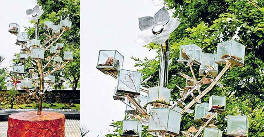 ayurveda-tree-in-kochi-subash-park-spreads-message-of-hope-to-fight-covid-19