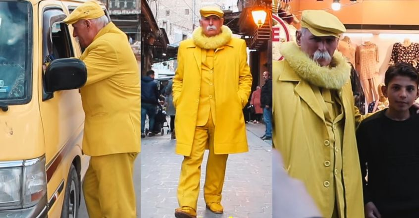 man-dressed-in-yellow-from-head-to-toe