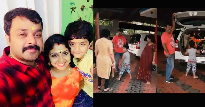 adhithyan-jayan-surprise-amarnath-ambili-devi-shares-video