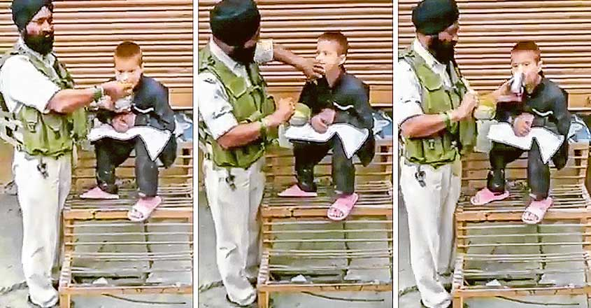 soldier-who-survived-pulwama-attack-shares-lunch-with-boy