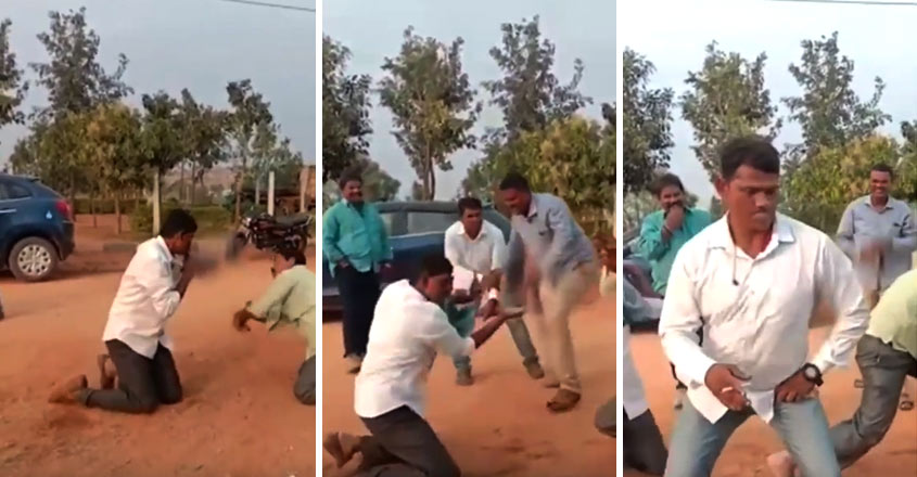 snake-dance-by-cops-viral-video