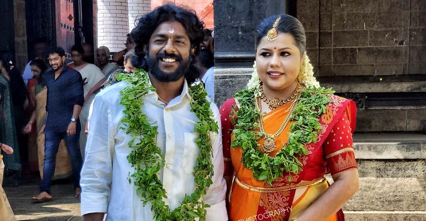 actor-sreekumar-weds-sneha