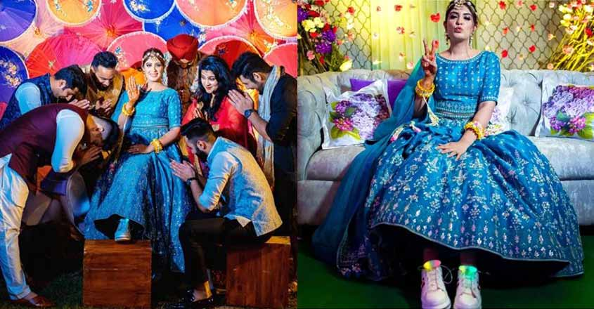 bride-wore-led-shoes-with-her-lehenga