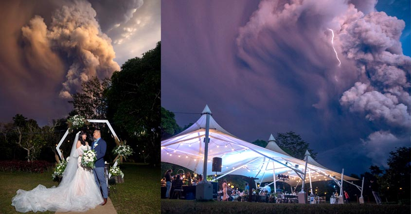 couple-gets-married-in-philippines-as-volcano-erupts