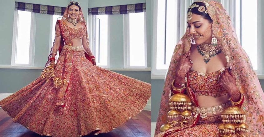 actress-kajal-aggarwaal-wedding-dress-details