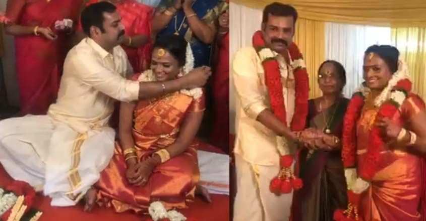 serial-actor-pradeep-chandran-got-married