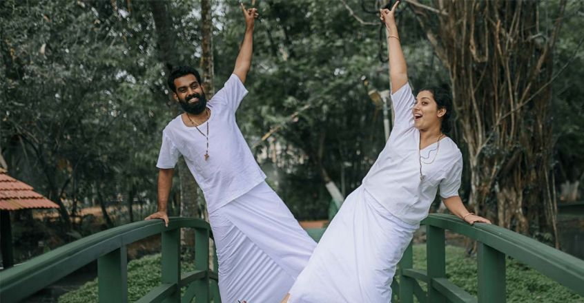 groom-and-bride-in-traditional-christian-style-pre-wedding-shoot