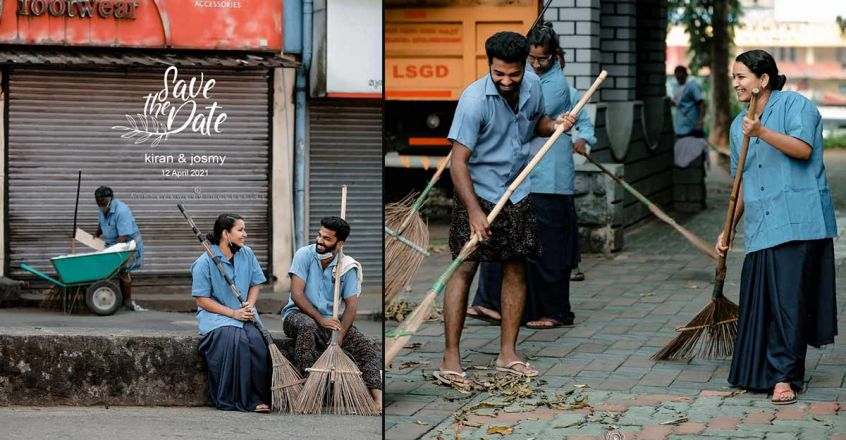 love-story-of-municipal-cleaning-workers-a-viral-save-the-date