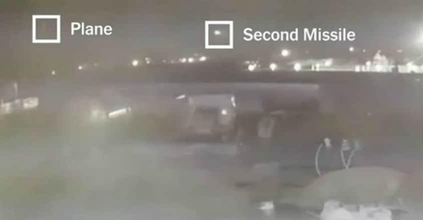 plane-crash-missile