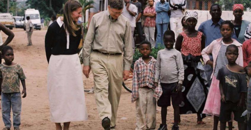 billgates-and-wife-africa