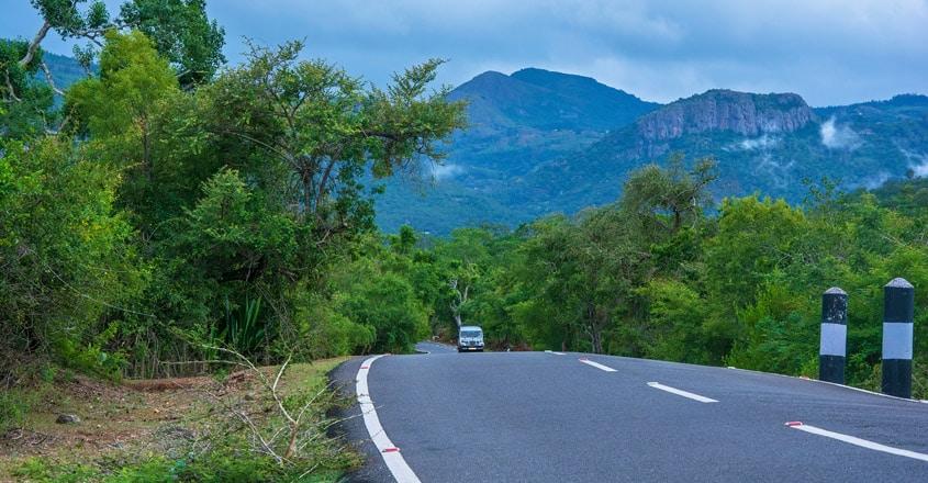 Mudumalai-National-Park-road