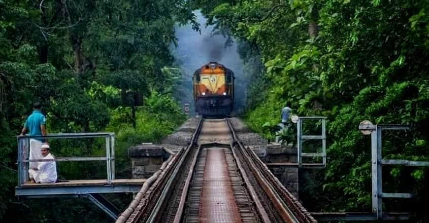 nilambur-train-trip