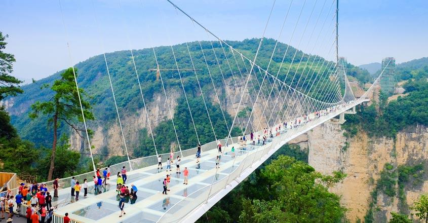 Zhangjiajie-bridge