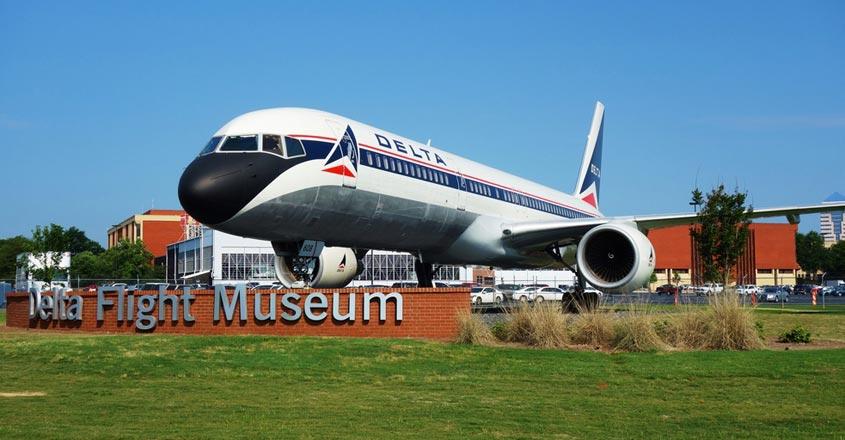 Delta-Flight-Museum,-Atlanta,-Georgia
