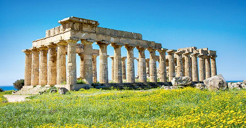 Greek Temple at Selinunte