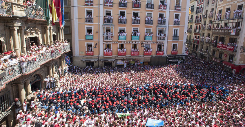 SPAIN-BULLFIGHTING-FESTIVAL-SAN FERMIN