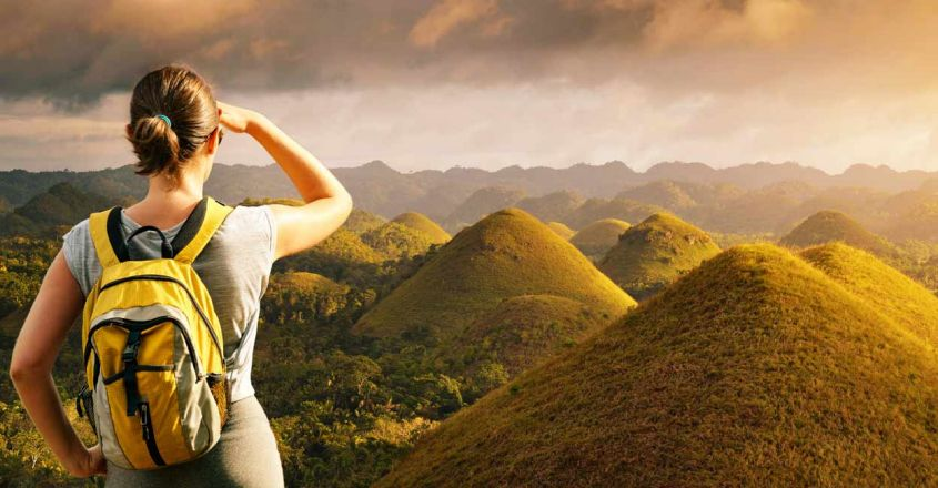 Chocolate-Hills-in-Bohol,-Philippines1