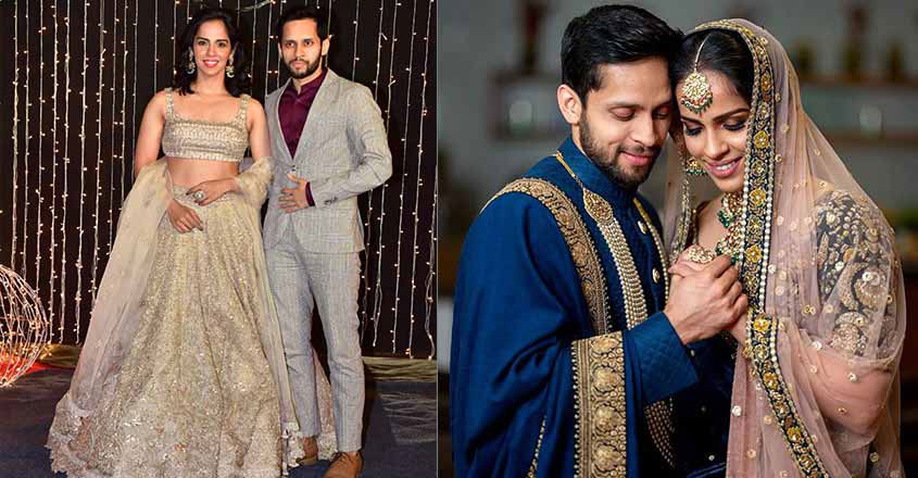 Saina Nehwal With Husband Parupalli Kashyap