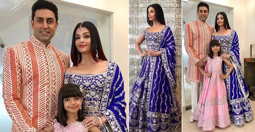 Aaradhya Bachchan looks as stunning as mum Aishwarya in a lehenga