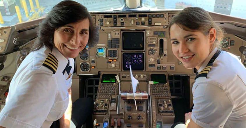 Mother-Daughter Co-Pilot Flight