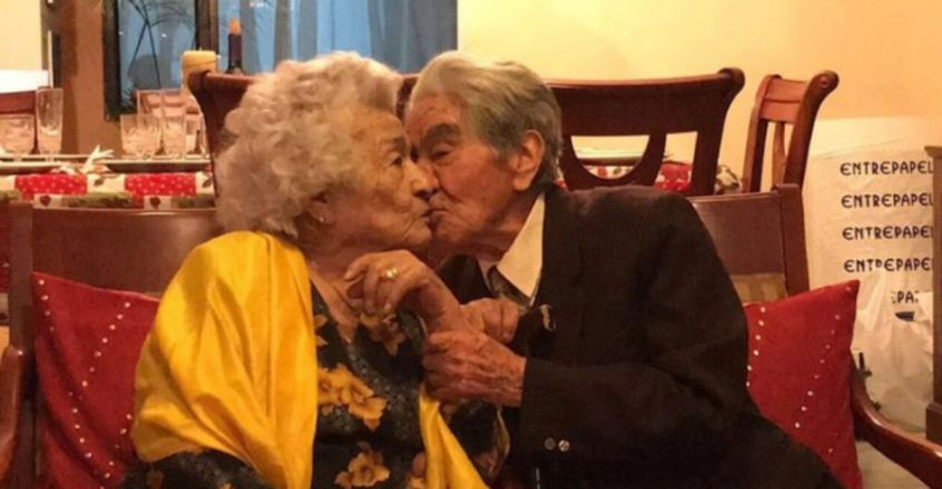 his Romantic Husband and Wife Broke the Record For World's Oldest Married Couple