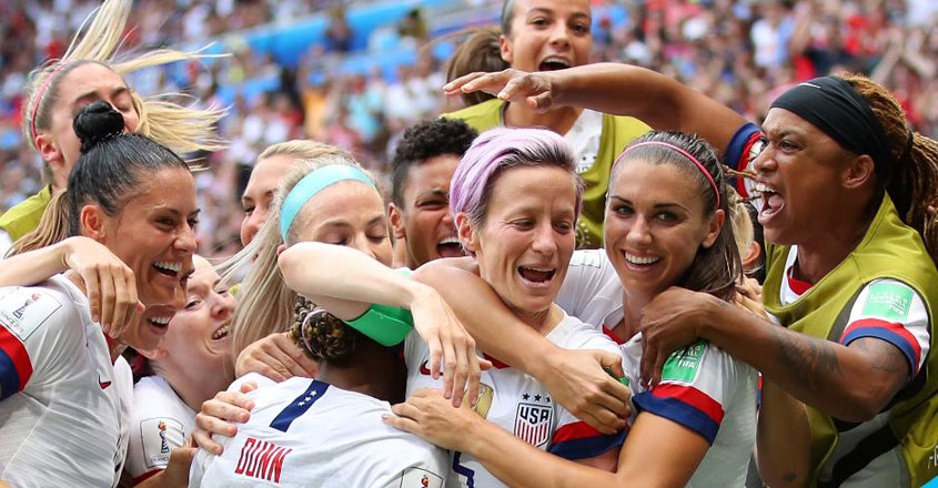US women's football team won the World Cup. Their success was, in part, attributed to having tracked each player's menstrual cycle