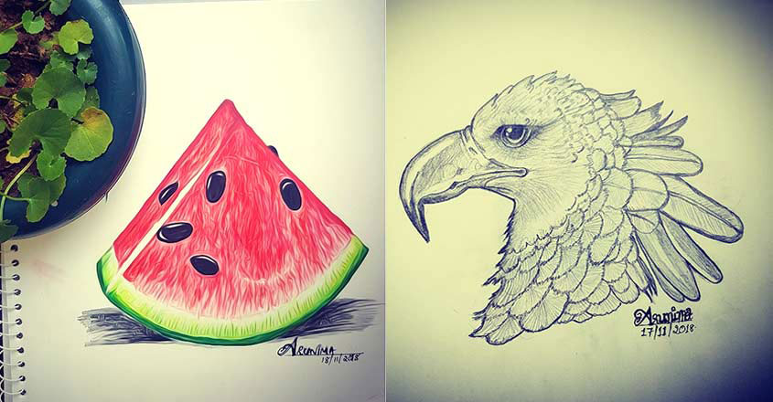 Arunimas Drawing