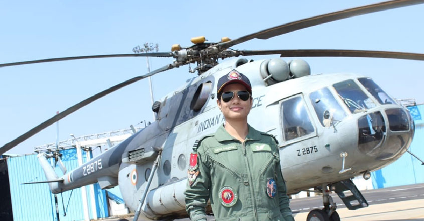 Indian Air Force inducts 'Hina Jaiswal' as first woman flight engineer