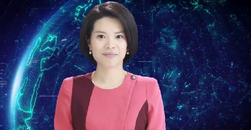 China unveils world's first AI female news presenter