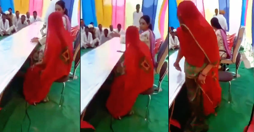 Congress MLA in Rajasthan Asks Woman Sarpanch to Sit on Floor